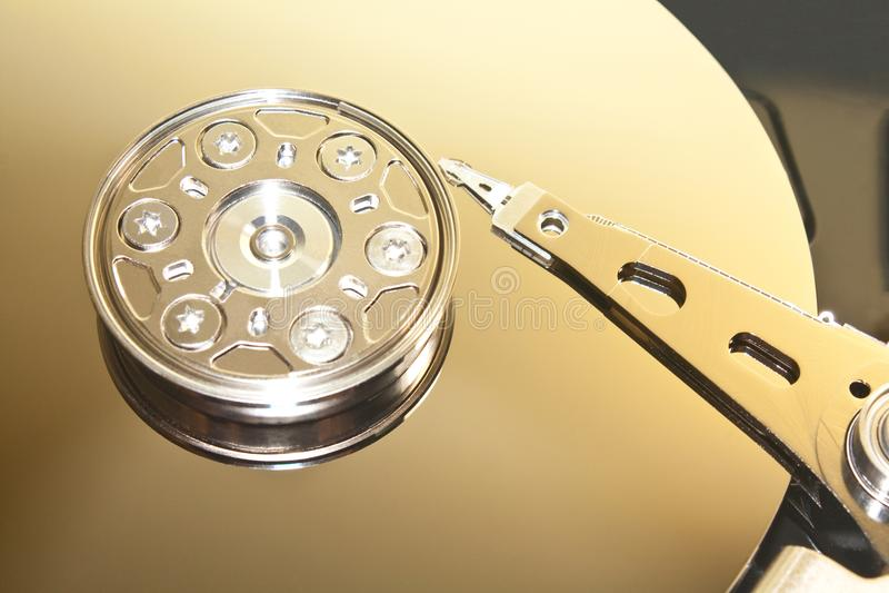 Fond d'unité de disque dur images stock