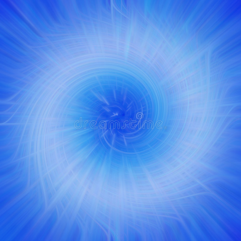 Fond dans le bleu illustration de vecteur