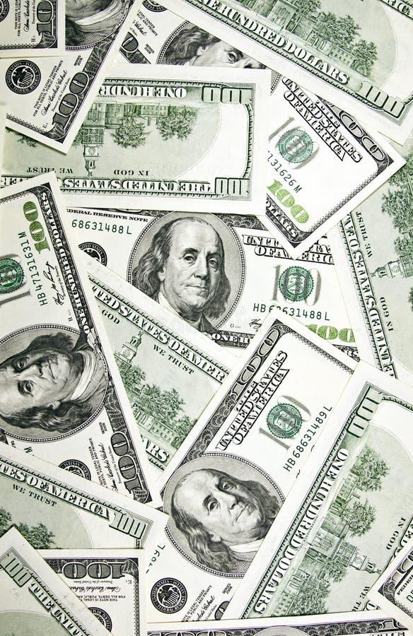 fond de $100 billets de banque illustration stock
