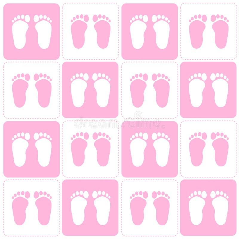 Fond de bébé illustration libre de droits