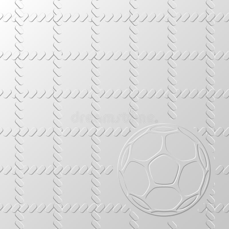 Fond de ballon de football illustration libre de droits