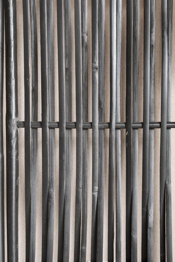 Fond de bambou noir photo libre de droits