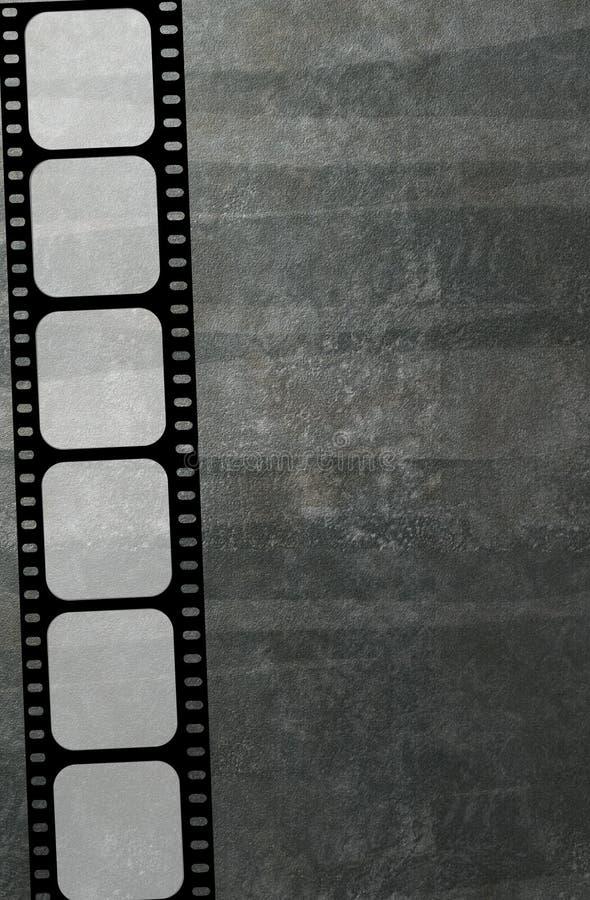 Fond de bande de film illustration de vecteur