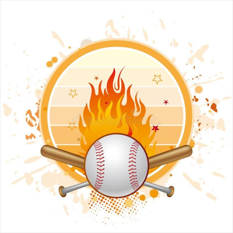 fond de base-ball illustration libre de droits