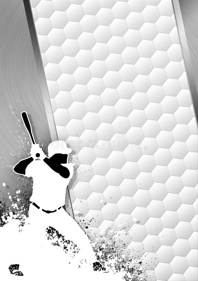 Fond de base-ball illustration stock