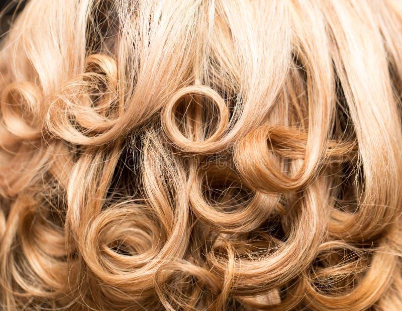 Fond de beaux cheveux du ` s de femme photos stock