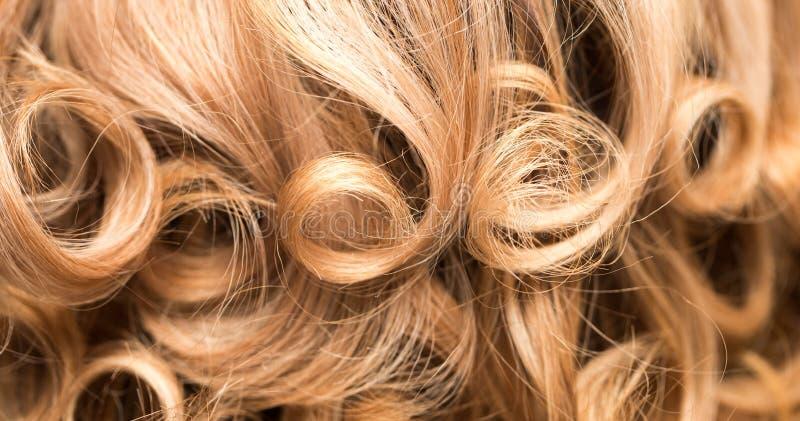 Fond de beaux cheveux du ` s de femme photographie stock libre de droits