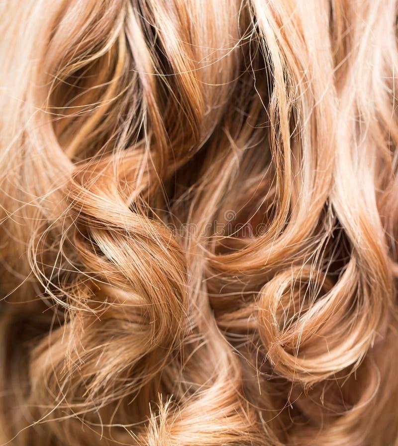Fond de beaux cheveux du ` s de femme images stock