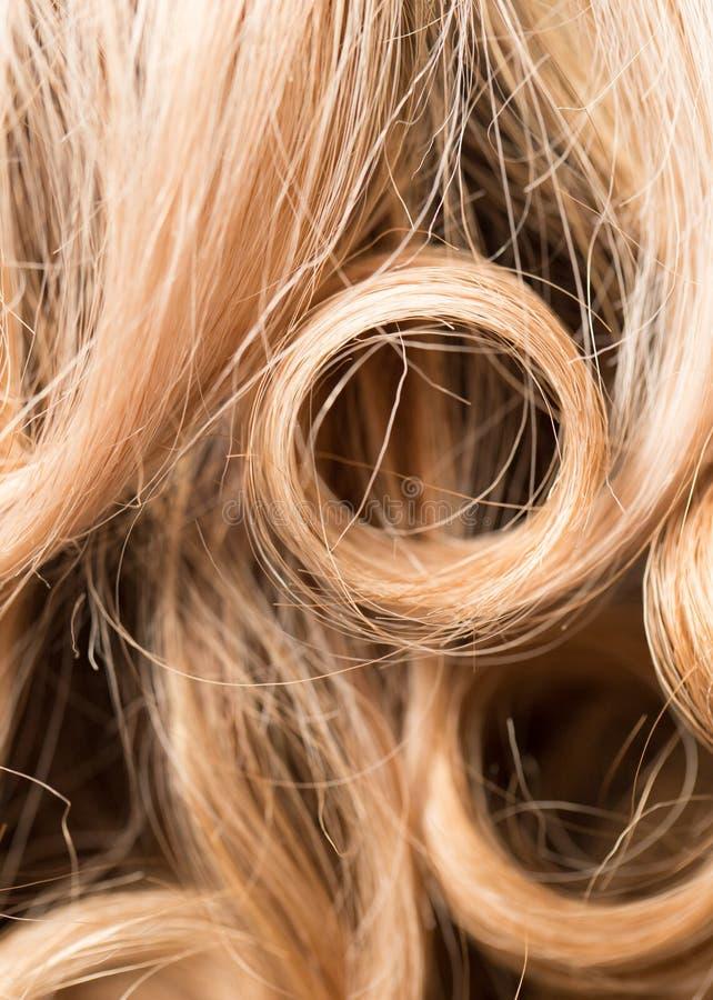 Fond de beaux cheveux du ` s de femme photographie stock