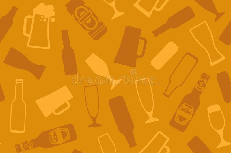 Fond de bière illustration libre de droits