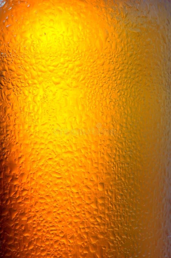 Fond de bière froide photographie stock