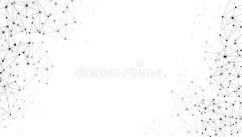 Fond de blanc de télécommunications mondiales illustration stock