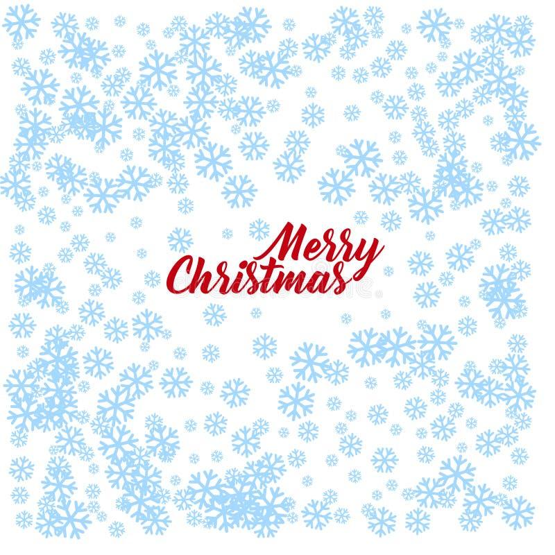 Fond de blanc de vecteur de Joyeux Noël illustration de vecteur