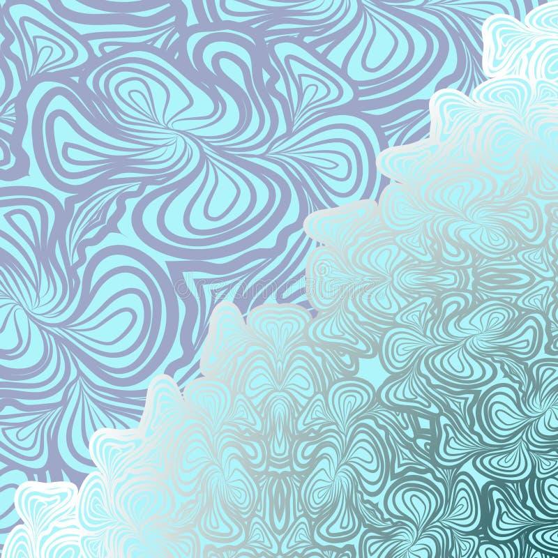 Fond de bleu d'Abstarct illustration libre de droits