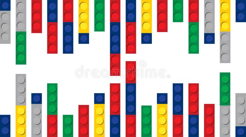 Fond de blocs constitutifs multicolore photos stock
