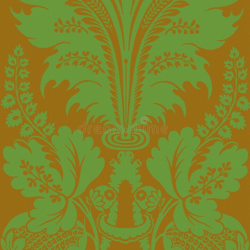 Fond de Bohème gitan floral génial de type illustration libre de droits