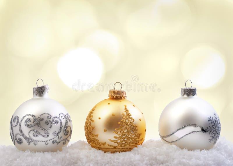 Fond de bokeh de Noël image libre de droits