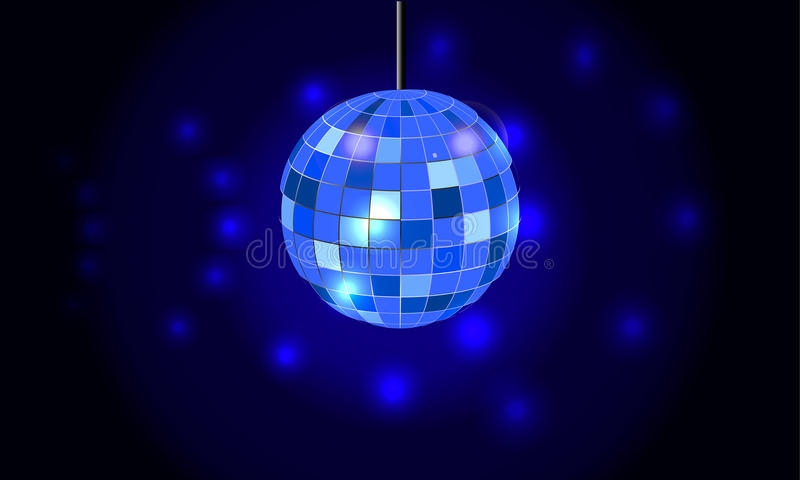 Fond de boule de disco illustration libre de droits