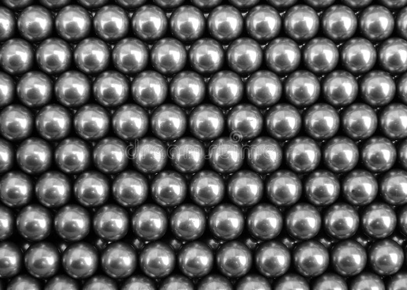 Fond de boules en métal photos stock
