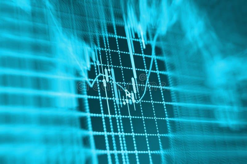 Fond de bourse des valeurs de finances illustration stock