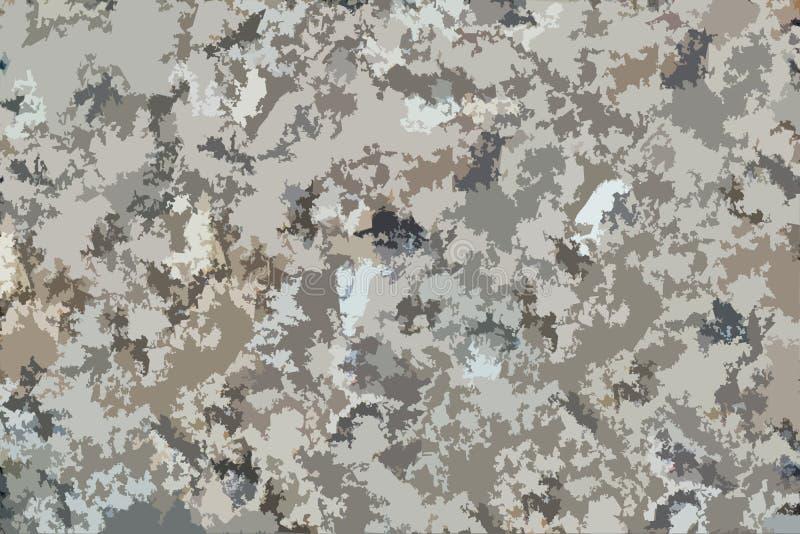 Fond de Brown, gris et noir de camouflage de modèle image stock