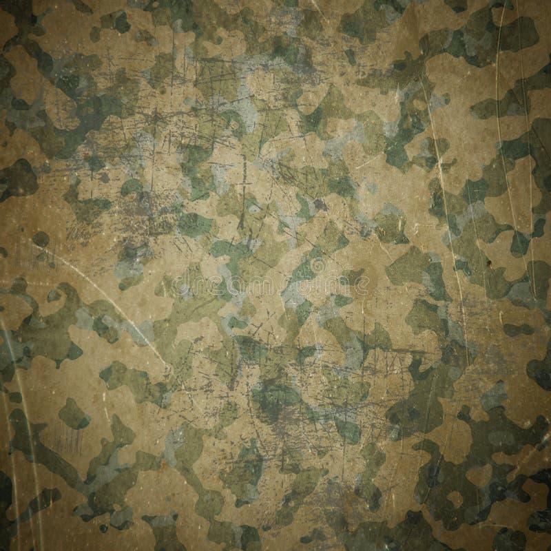 Fond de camouflage d'armée de désert illustration de vecteur