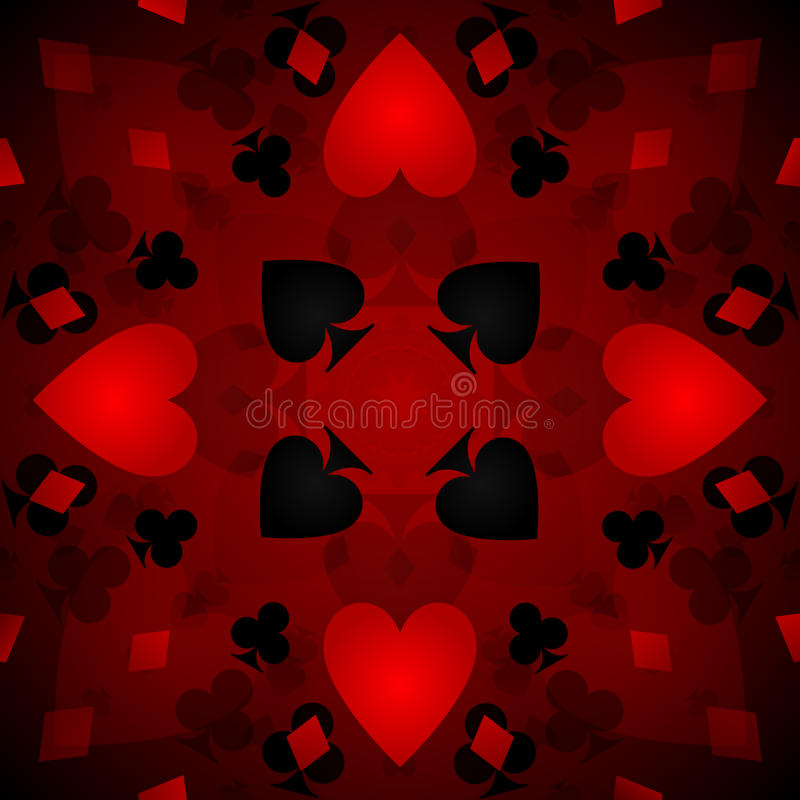 Fond de carte de kaléidoscope illustration stock