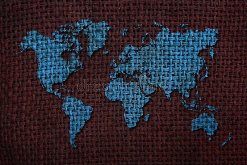 Fond de carte du monde illustration stock