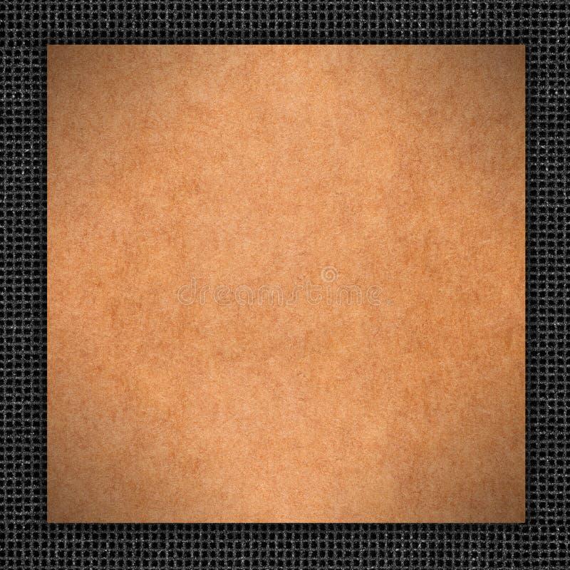 Fond de carton de Brown photos libres de droits