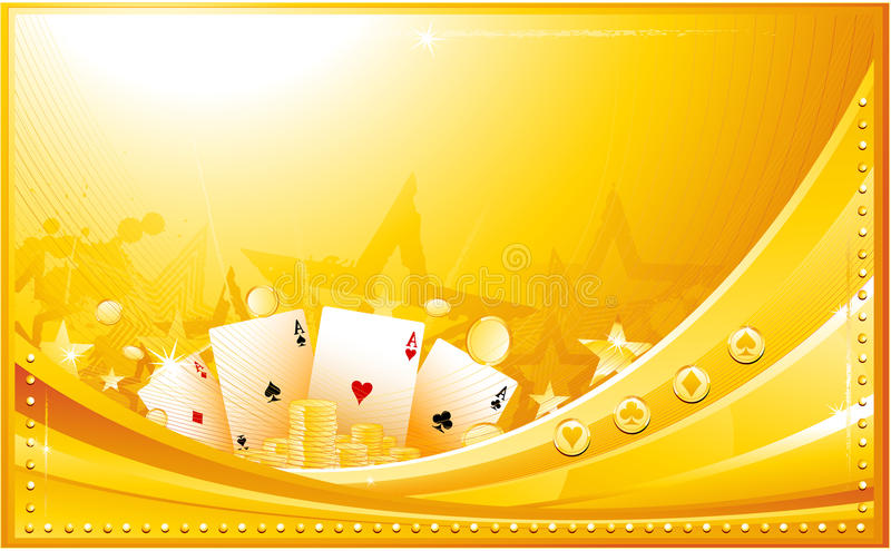 Fond de casino illustration libre de droits
