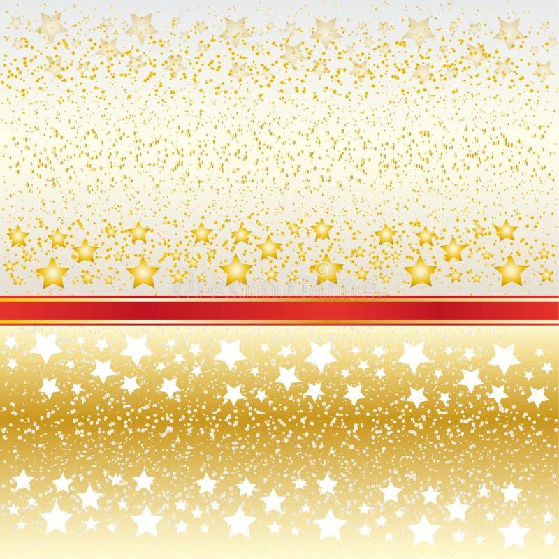 Fond de cendre et une dispersion des étoiles illustration de vecteur