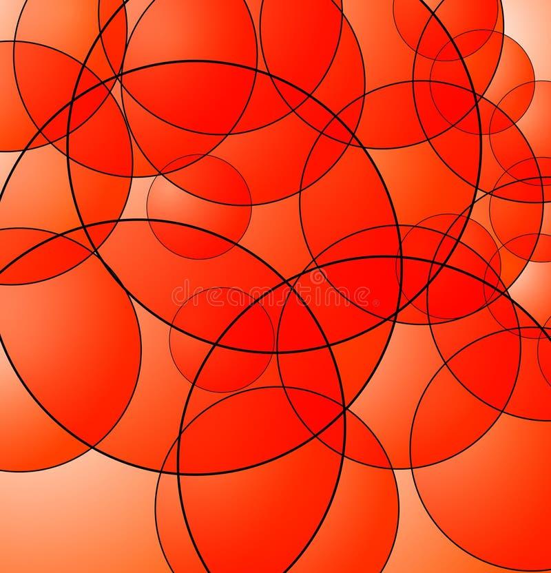 Fond de cercle illustration de vecteur