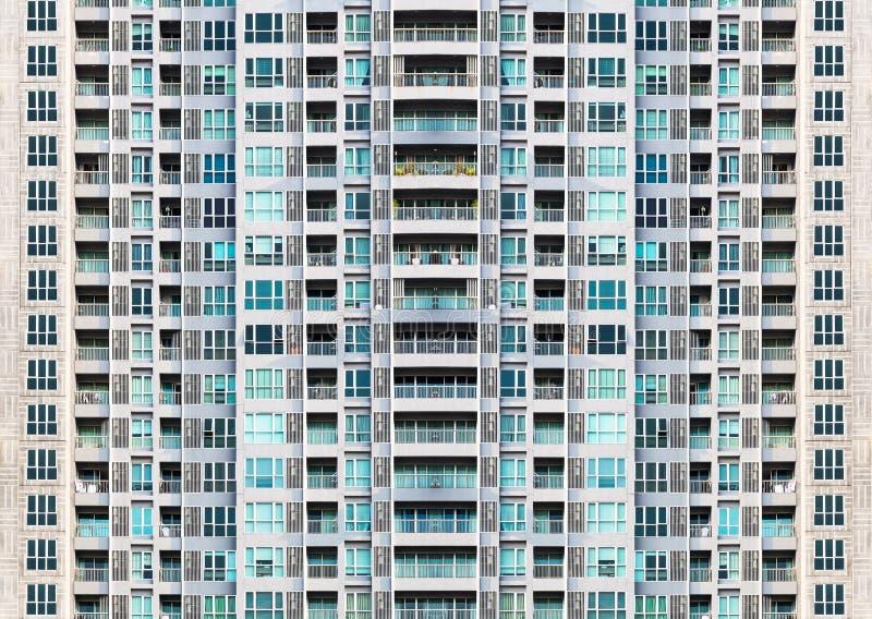 Fond de châssis de fenêtre de bâtiment image stock