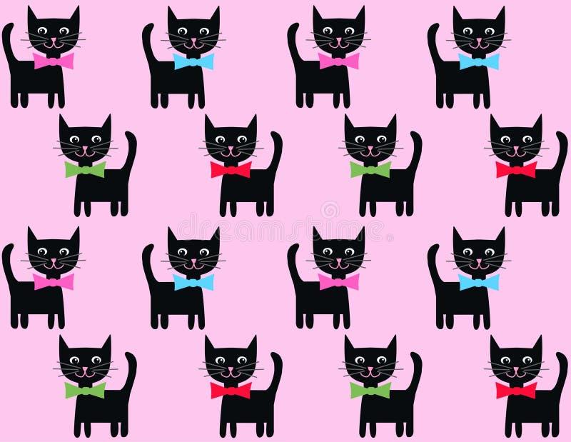 Fond de chat illustration libre de droits