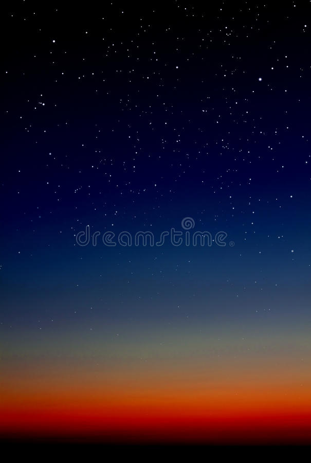 Fond de ciel de nuit photographie stock