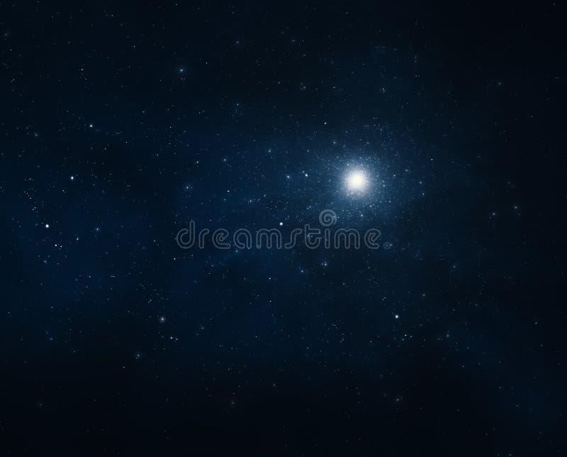 Fond de ciel nocturne illustration de vecteur