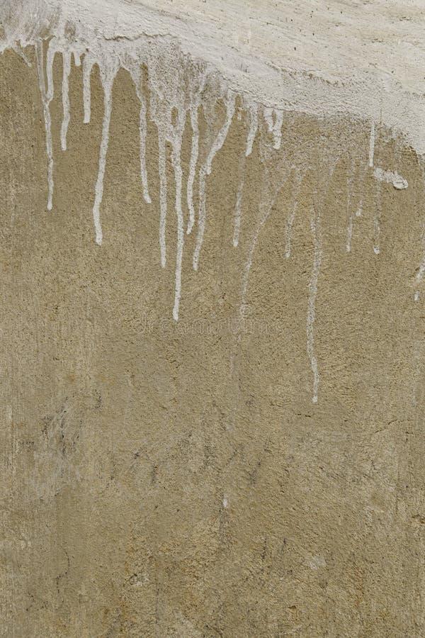 Fond de ciment avec l'humidité et la ruine image stock