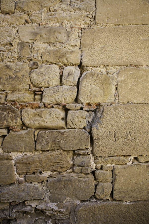 Fond de ciment avec l'humidité et la ruine photographie stock
