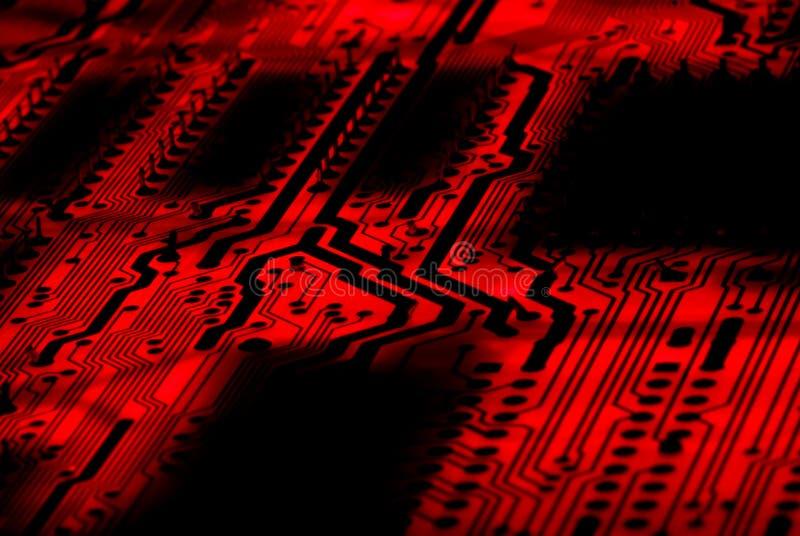 Fond de circuit images stock