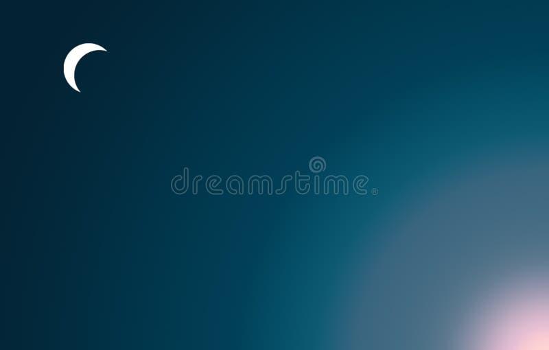 Fond de clair de lune - illustration illustration libre de droits