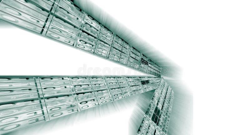 Fond de code binaire image libre de droits