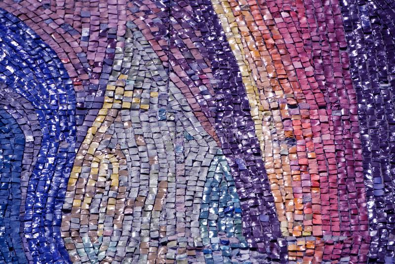 Fond de collage de tuiles de mosaïque de textures de marbre de couleur photos libres de droits