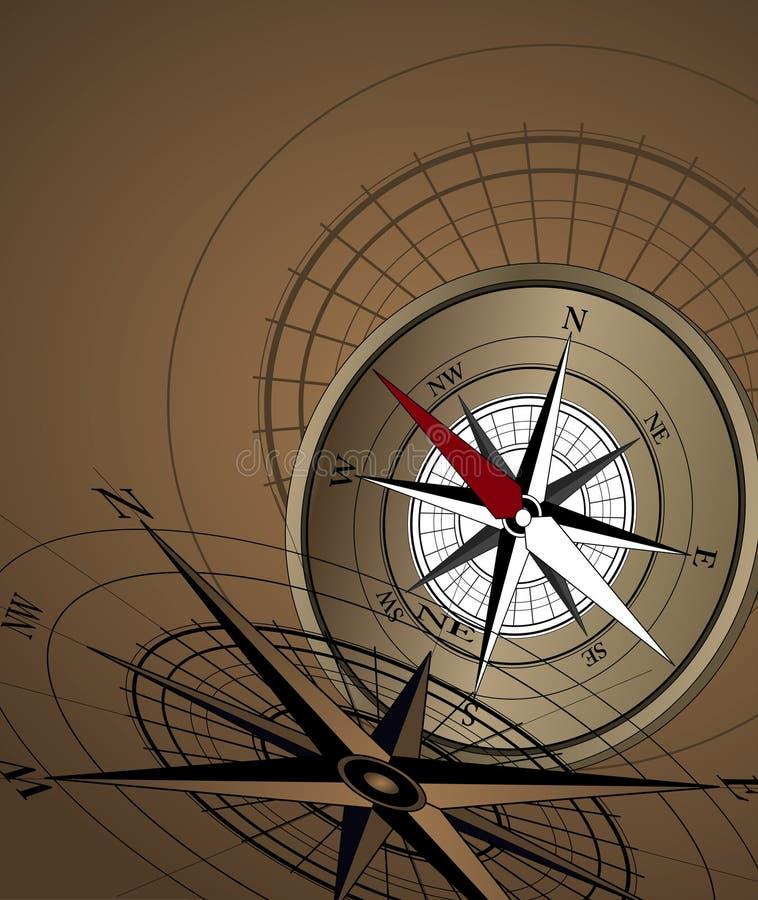 Download Fond de compas illustration de vecteur. Illustration du explorez - 8667420