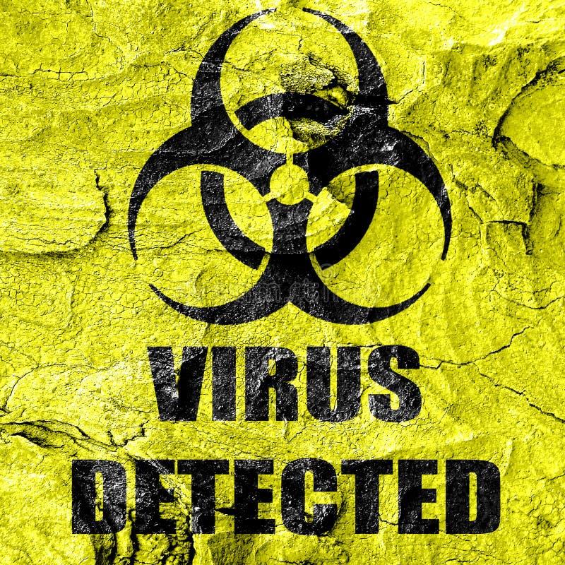 Fond de concept de contagion illustration de vecteur