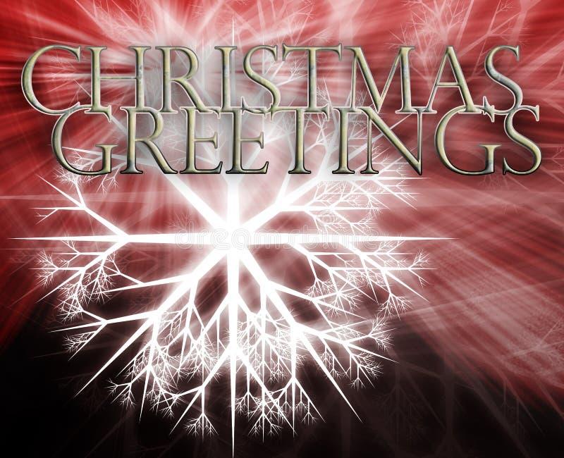 Fond de concept de Joyeux Noël illustration stock