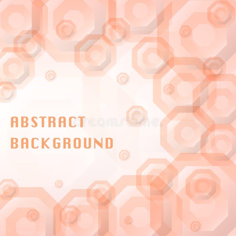 Fond de conception d'octogone images libres de droits