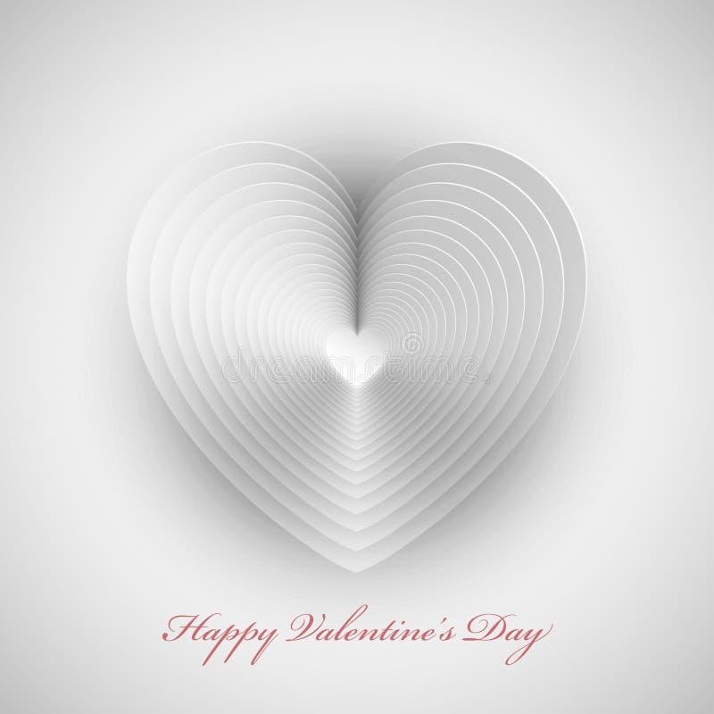 Fond de conception de coeur illustration de vecteur
