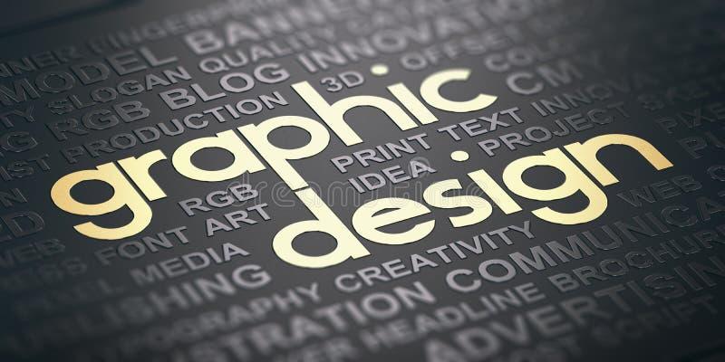 Fond de conception graphique de communication visuelle illustration de vecteur
