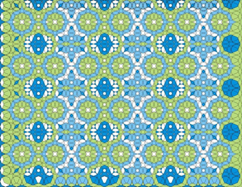 Fond de configuration d'arabesque illustration libre de droits