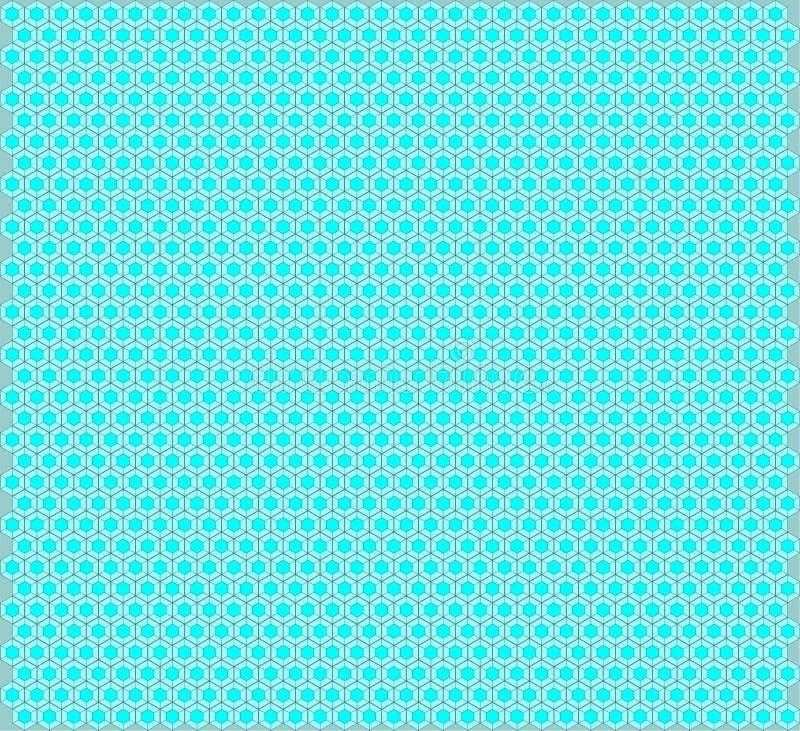 Fond de configuration d'hexagone images libres de droits